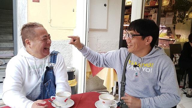 出川哲朗 充電旅 人気 出川哲朗の画像 出川哲朗(左)とゲストライダーのずん飯尾(右) in Italiaの画像の画像