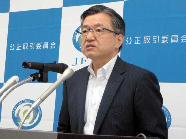 公取委 吉本 契約形態 疑問視 公取委の山田昭典事務総長の画像