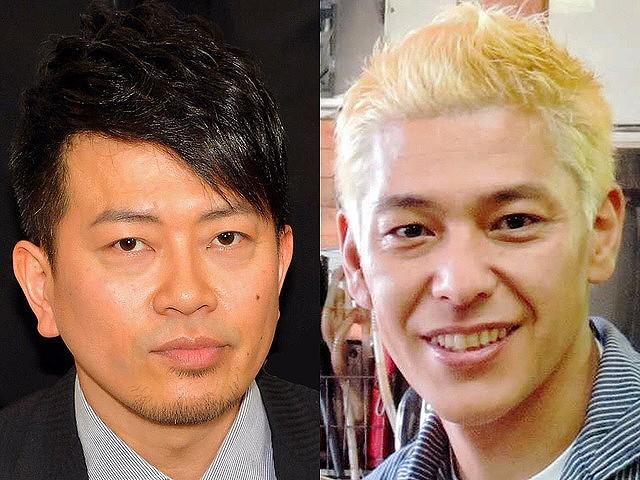 宮迫 田村亮 会見 吉本 宮迫博之(左)、田村亮(右)の画像