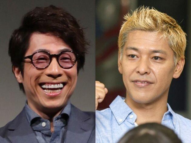 闇営業 田村亮 微妙 ロンブー田村淳(左)&ロンブー田村亮(右)の画像