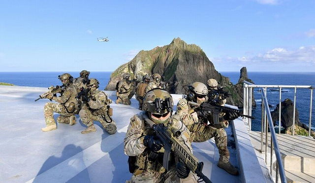 GSOMIA 破棄 韓国 大統領退陣 集会 韓国海軍の特殊部隊の画像