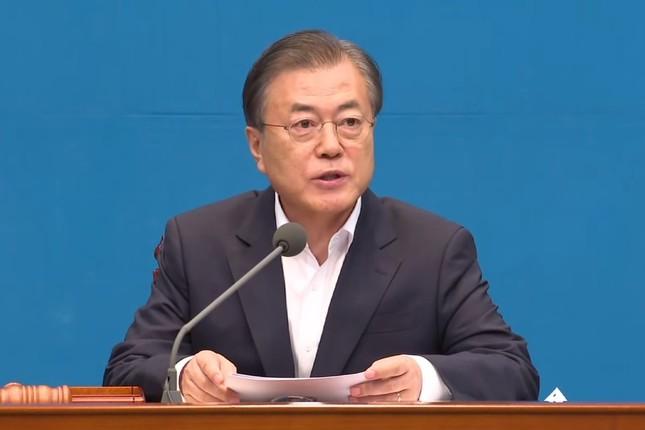 韓国 日本 報復 手段 文在寅(ムン・ジェイン)大統領の画像