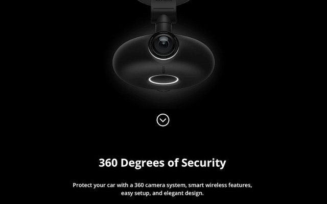 あおり運転 対策 ドライブレコーダー 損保 VEZO 360の画像