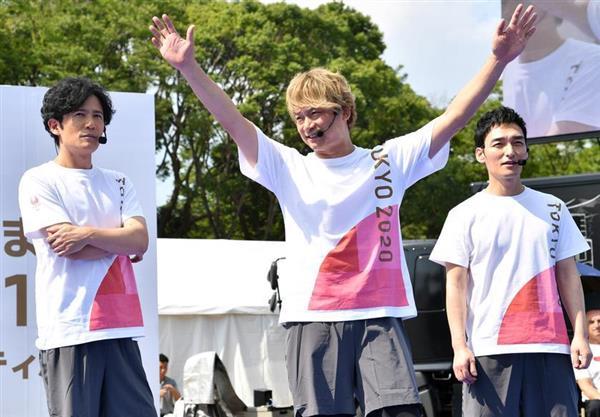 草なぎ剛 NHK 元SMAP テレビ 復帰 「新しい地図」の画像