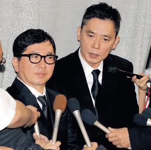 ジャニー喜多川 お別れ会 芸能人 コメント 爆笑問題の太田光と田中裕二 の画像