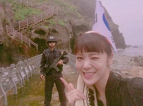 韓国アイドル リジ 竹島 挑発 理由 AFTERSCHOOLのリジの画像