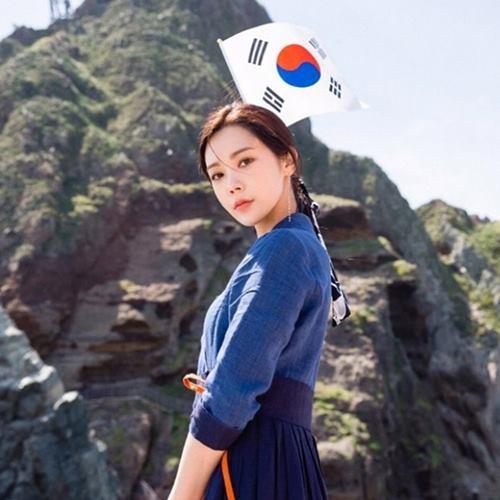 韓国アイドル リジ 竹島 挑発 理由 リジの画像